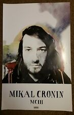 "Mikal Cronin - MCIII 11"" x 17"" US promo poster VG+ cond Okie Dokie Epsilons D"