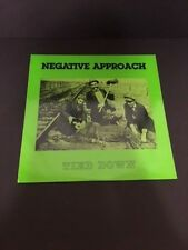 NEGATIVE APPROACH TIED DOWN LP TOUCH AND GO HARDCORE PUNK 1st PRESSING