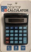 New ListingiLogic Desktop Calculator - Simple Basic Handheld Small Calculator - Brand New