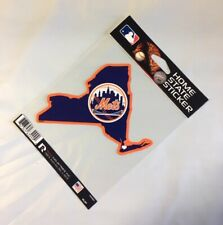 New York Mets Home State Sticker NY Die Cut Decal Color Logo