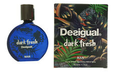 Desigual Dark Fresh Man Eau De Toilette Herren EDT 50 ml NEU