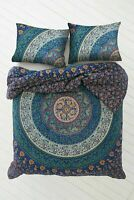 Indian Boho Mandala Duvet Doona Cover Bedding Set Queen Size Quilt Cover Throw