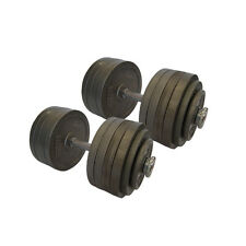 NEW MONSTER 100 KG DUMBBELL WEIGHTS SET GYM !