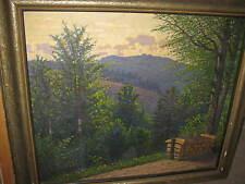 VILLAGGIO DI TRENO Heribert, 1877 Poinitilistische Paesaggio