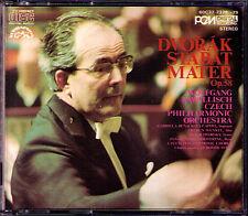 Wolfgang SAWALLISCH: DVORAK Stabat Mater DENON Japan 1985 2CD Gabriela Benackova