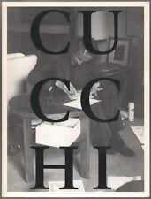 """Enzo CUCCHI. """"La Disegna"""". Prestel-Verlag, 1988. E.O."""
