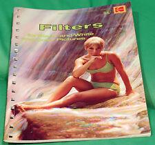 Vintage Kodak Filters Guide Second Printing 1971