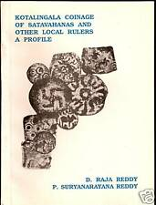 KOTALINGALA SATAVAHANAS BY REDDY & REDDY 1993 COIN BOOK
