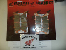 GENUINE HONDA FRONT BRAKE PAD SET RIGHT & LEFT GOLDWING GL1800