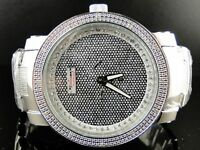 MENS JOJO/JOJINO/JOE RODEO PJ340A CRUSHED DIAMOND WATCH