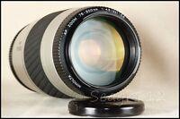 Minolta Maxxum/Sony Alpha 75-300mm f/4.5-5.6 II Silver Telephoto Zoom - Minty