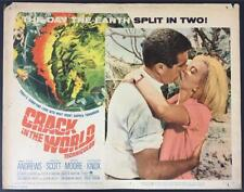 Janette Scott Kieron Moore kissing Crack in the World 1965  # 5 lobby card 995