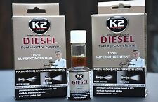 2x DIESEL K2 REGENERATION FUEL INJECTOR CLEANER PROTECTS FUEL SYSTEM RESTORE
