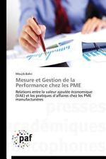 Mesure et Gestion de la Performance Chez les Pme by Bahri Moujib (2014,...