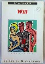 WILT - TOM SHARPE - ED. ANAGRAMA 1986 - VER DESCRIPCIÓN