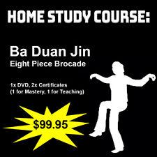 Home Study Course: 8 Piece Brocade (Ba Duan Jin Qigong)