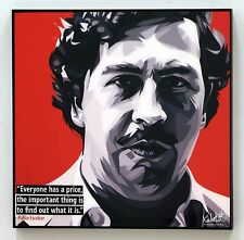 Pablo Escobar canvas quote wall decals photo painting pop art poster