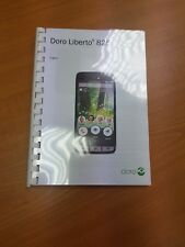 DORO LIBERTO 825 PRINTED INSTRUCTION MANUAL USER GUIDE 92 PAGES A5