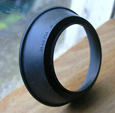 49mm  rubber wide  screw in  Lens Hood shade used olympus japan  for 28mm
