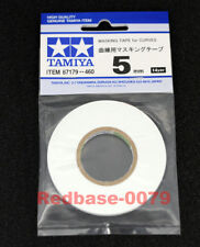 Tamiya 87179 Masking Tape for Curves 5mm width x20m for Model RC Tank