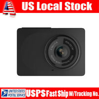 "HOT Original Xiaomi Yi 2.7"" LCD HD 1080P WIFI Car Dash Camera DVR Recorder Black"
