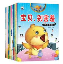 10books /set,Chinese Mandarin bedtime stories books pinyin picture for 0-6 kids