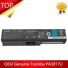 OEM Genuine PA3817U-1BRS Toshiba Satellite Battery A660 C650D C655 L655 L750L755