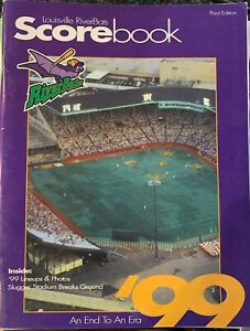 1999 Louisville Riverbats Program International League