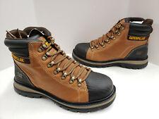 "Caterpillar FOXFIELD 6"" Steel Toe Slip / EH Resistant Boots P91058 Trail Brown"
