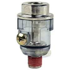 "InLine 1/4"" Air Compressor Tool Mini Oiler Lubricator In line Oil Lubrication"