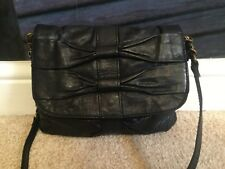 Accessorize black small leather handbag, Used in very good condition, Cross body