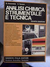 Amandola e Terreni ANALISI CHIMICA STRUMENTALE E TECNICA 4° ed. Masson 1984