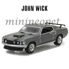 GREENLIGHT 44780 E JOHN WICK MOVIE (2014) 1969 FORD MUSTANG BOSS 429 1/64 GREY
