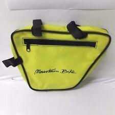 Borsello marsupio bag pouch portaoggetti bici bicicletta epoca anni 80's GIALLO