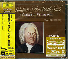 HENRYK SZERYNG-J.S.BACH: PARTITAS FOR VIOLIN SOLO NO.1-NO.3 -JAPAN SHM-CD D46