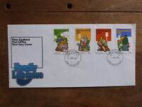 NEW ZEALAND 1981 FAMILY LIFE SET 4 STAMPS FDC FIRST DAY COVER