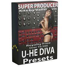 10,500+ U-HE DivaSynth PresetsAbleton Live Bitwig Logic FL Studio One Cubase