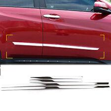 Chrome Door Side Lining Body Molding Cover Trim For Honda HR-V Vezel 2016-2018