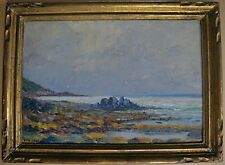 French artist, coastal landscape. From Brittany. Signed Mouchot c1930