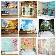 Floral Scenery Tapestry Wall Hanging Home Decor Bedspread Wall Blanket Art Decor