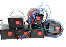 Lot of 6 - Headlight Flashers Controller Switch Box Control Head Police Car