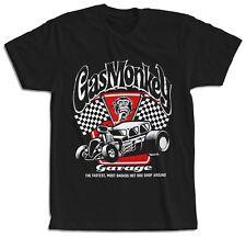 Camiseta motera negra manga corta Gas Monkey Mono Garage hombre