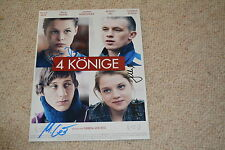 4 KÖNIGE CAST signed Autogramm  20x25 cm In Person , JELLA HAASE , PAULA BEER