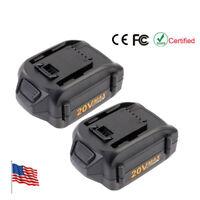 2pcs  WA3520 20V 4Ah Lithium Battery for WORX WG163 WG151s WG155s WG251s WG255