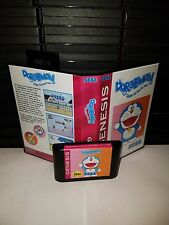 Doraemon - Gadget Cat From the Future Game for Sega Genesis! Cart & Box