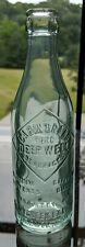 Cabin Brand Deep Well Cabin Creek beer soda bottle Decota WV hand finished BIM
