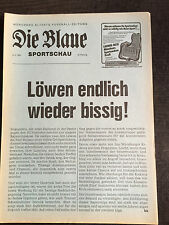 Bayernliga 82/83 TSV 1860 München - Kickers Würzburg, 09.03.1983
