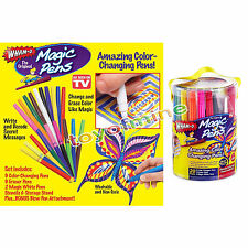 Hot Magic Pens Rainbow Magic Markers Color Changing Pens As Seen On TV 20 pens
