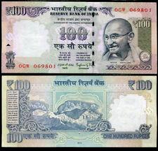 INDIA 100 RUPEES 2014 P 105 NEW SYMBOL AUNC ABOUT UNC
