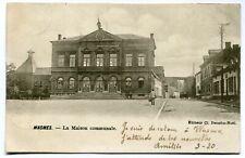 CPA - Carte Postale - Belgique - Wasmes - La Maison Communale (DG15238)
